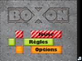 bOxOn iPad Title screen.