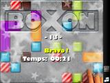 bOxOn iPad 21 seconds to complete this level, not bad...