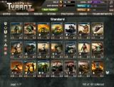 War Metal: Tyrant Browser Player's card collection