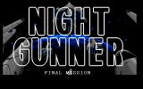 Night Gunner: Final Mission PC-98 Title screen