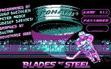 Blades of Steel DOS Title 1 & Manual Protection check (CGA)