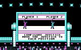 Blades of Steel DOS Configure Joystick of Player 1 & 2 (CGA)
