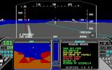 F-19 Stealth Fighter DOS Ready for launch from Carrier (EGA/Tandy 16 colors)