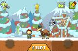 Scribblenauts Remix iPhone Adding an adjective to something has odd results sometimes... This is a 'kooky camel' in the Xmas themed playground.