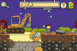 Scribblenauts Remix iPhone A digger and a casket should suffice to bury this blue corpse...