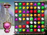 Bejeweled 3 Browser Forming a match, new gems will appear.