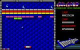 Arkanoid Atari ST Gameplay on the first level
