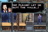 Batman Begins Game Boy Advance Interrogating a criminal