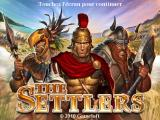 The Settlers iPad Title screen