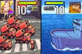 Advance Wars Game Boy Advance Firing at a Lander (personnel carrier) with Missile trucks