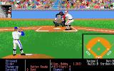 HardBall! Atari ST The pitching and batting screen
