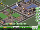 SimCity Deluxe iPad The residential and commercial areas are starting to grow.