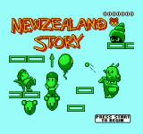 The New Zealand Story NES Title