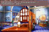 Circle of Blood Game Boy Advance Talking to the inspector