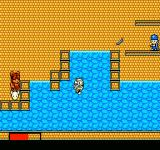 The New Zealand Story NES Tiki in the water