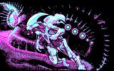 Obliterator DOS Starting a new game (CGA)