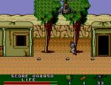 Rambo III SEGA Master System Now there are also hostages around who must not be shot.