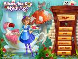 Alice's Tea Cup Madness Windows Title screen and main menu