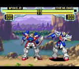 Shin Kidō Senki Gundam Wing: Endless Duel SNES Wing vs Shen-Long