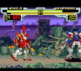 Shin Kidō Senki Gundam Wing: Endless Duel SNES Heavy Arms vs Wing