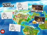 Tapper World Tour iPad Map of North America