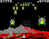 Attack on Alpha Centauri BBC Micro Third wave - more bugs attack for each wave