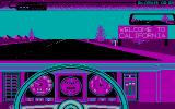 Test Drive II Scenery Disk: California Challenge DOS Start (CGA)