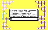 Mickey's Crossword Puzzle Maker DOS Manual Protection (EGA)
