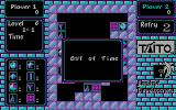 Puzznic DOS Out of Time (CGA)