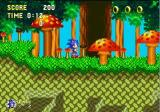 Sonic & Knuckles Collection Windows Sonic gets ready to party