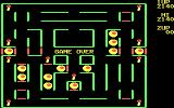 Super Pac-Man DOS Game Over (CGA)