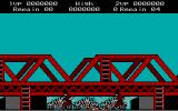Rush'n Attack DOS Killed by Enemy (CGA)