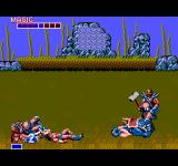 Golden Axe SEGA Master System The first boss fight