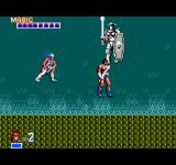 Golden Axe SEGA Master System Boss fight level 3