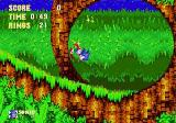 Sonic & Knuckles Collection Windows Sonic goes for a run