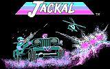 Jackal DOS Title screen (CGA)