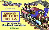 Goofy's Railway Express Commodore 64 Title screen