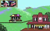 Goofy's Railway Express Commodore 64 First screen