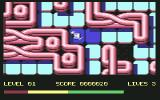 Maze Mania Commodore 64 First level