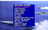 Heat Wave: Offshore Superboat Racing DOS Main menu (VGA)