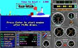 Heat Wave: Offshore Superboat Racing DOS Time trials (VGA)