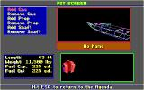 Heat Wave: Offshore Superboat Racing DOS Pit Screen (EGA/Tandy)