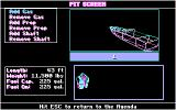 Heat Wave: Offshore Superboat Racing DOS Pit Screen (CGA)