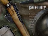 Call of Duty Windows Title Screen and Main Menu