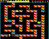 Rubble Trouble BBC Micro Destroying a boulder