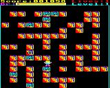 Rubble Trouble BBC Micro Level completed