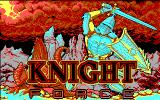 Knight Force DOS Title screen (EGA)