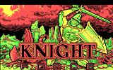 Knight Force DOS Title (CGA)