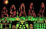 Knight Force DOS Starting a new game (CGA)