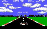 Pole Position II DOS Game Over (EGA)